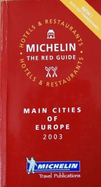 Principales ciudades de Europa 2003