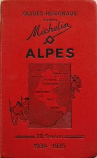 Les Alpes 1934-35