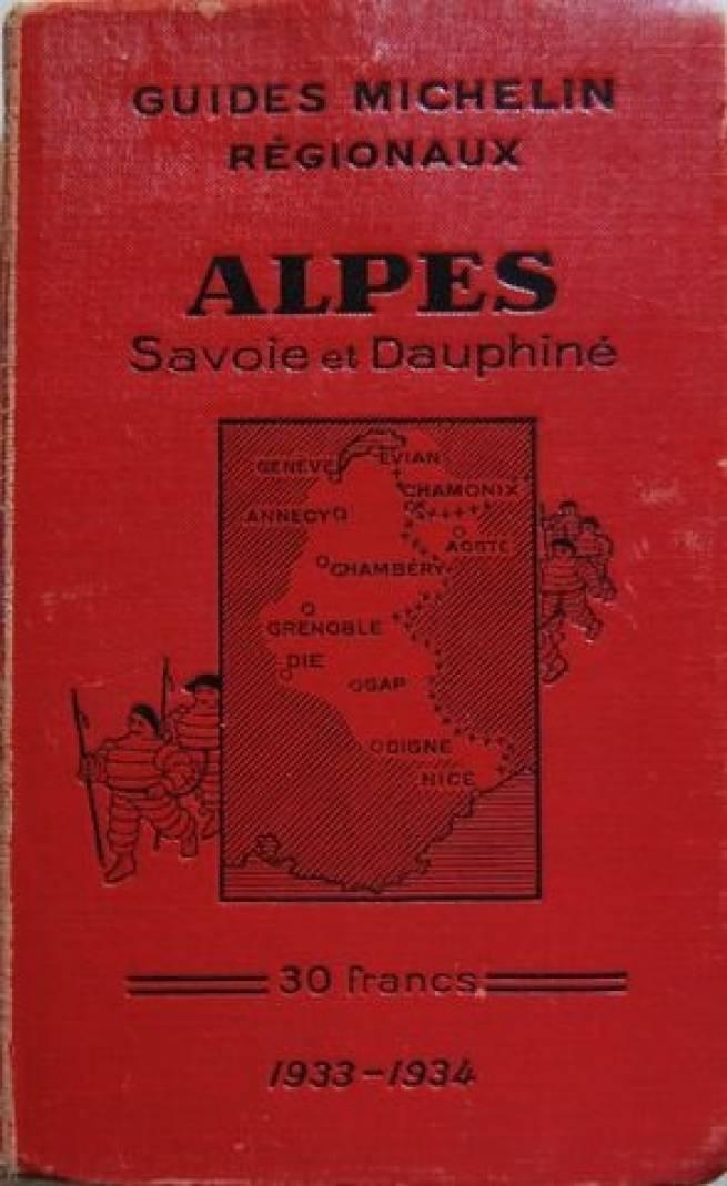 Alpes Savoie Dauphiné 1933-34