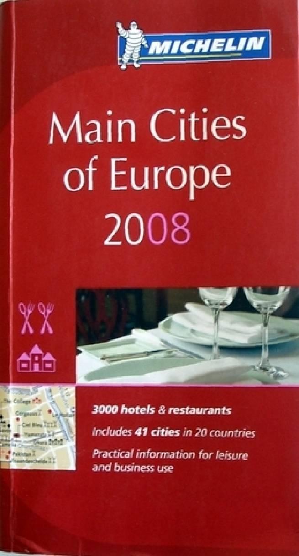 Principales ciudades de Europa 2008